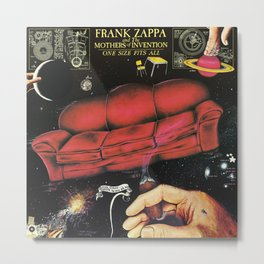 One Size Fits All by Frank Zappa and The Mothers of Invention Metal Print