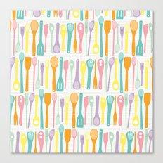 Candy Utensils Canvas Print