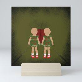 Twin Kids Mini Art Print