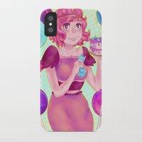 princess bubblegum iPhone & iPod Cases featuring Princess Bubblegum by MimiJones