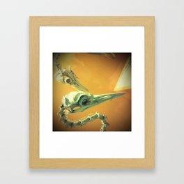 Dead Birds in Love Framed Art Print