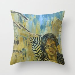 Tempting Tevana Throw Pillow