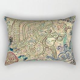 Ancient Mexico Rectangular Pillow