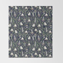 All is Calm Throw Blanket