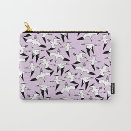 Pink Gannet Carry-All Pouch