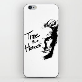Time for Heroes iPhone Skin