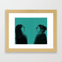 YOU? Framed Art Print