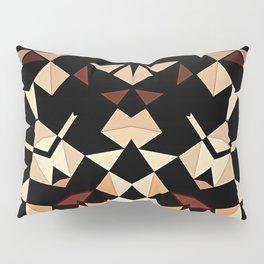 Patchwork Half Mandala Neutral Tones Pillow Sham