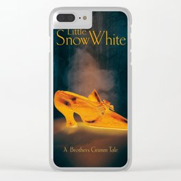 A Brothers Grimm Tale: Little Snow White Clear iPhone Case