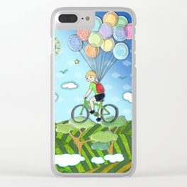 Adventure boY Clear iPhone Case