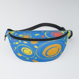 Patio Lantens Blue Fanny Pack
