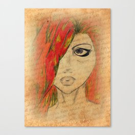 Red's Love Letter Canvas Print