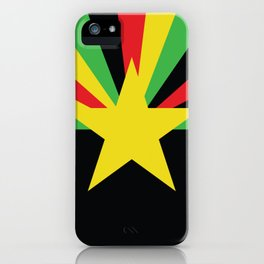 Arid Rasta Vecta iPhone Case