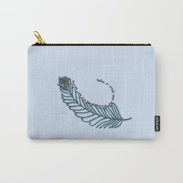 peacock feather art Carry-All Pouch