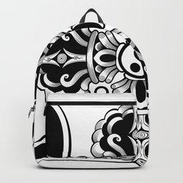 Swastik with vajra Backpack