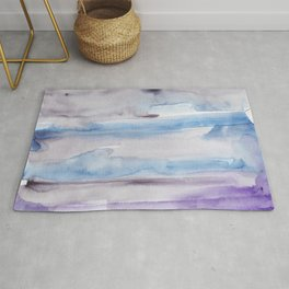 3     190907   Watercolor Abstract Painting Rug