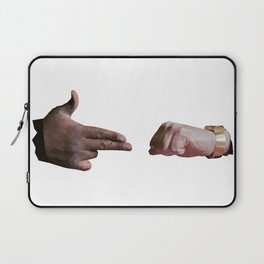 Run The Jewels low poly logo Laptop Sleeve