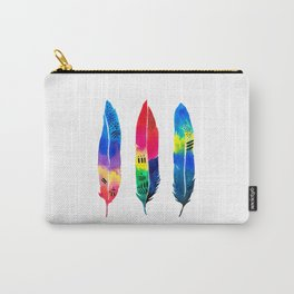 Tropical Quills Carry-All Pouch