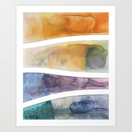 The Reef Art Print