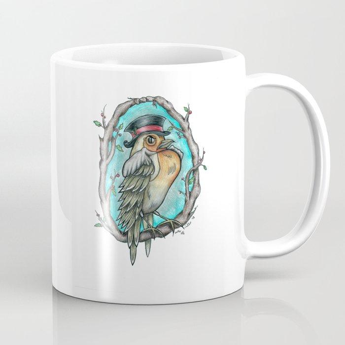 Fancy Robin Coffee Mug