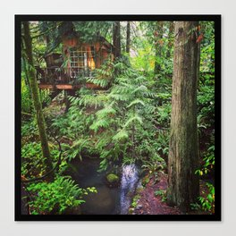 The Nest, Treehouse Point, WA Canvas Print
