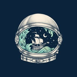 Framed Art Print - Spaceship - Enkel Dika