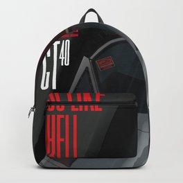 Go like Hell GT40 Miles Daytona 1966 Backpack