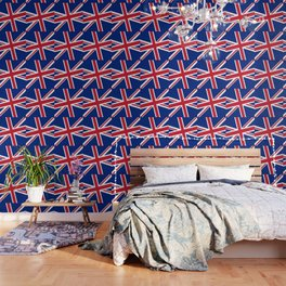 Union Jack Diagonal Wallpaper