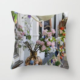 Spring In Pastels In Holland Throw Pillow