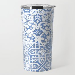 celtic cloud blue Travel Mug