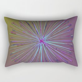 Purple Star Rectangular Pillow