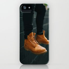 The Hiker (Color) iPhone Case