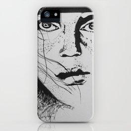 Freckle Face iPhone Case