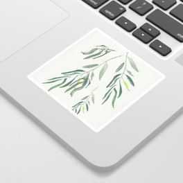 Eucalyptus Branches II Sticker
