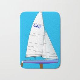 470 Olympic Sailboat Bath Mat