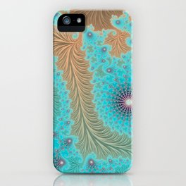 Aquae - Fractal Art iPhone Case