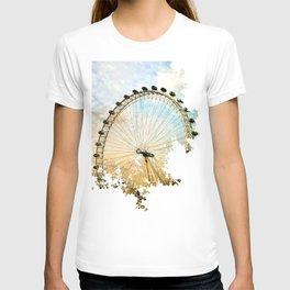 Abstract London Eye T-shirt
