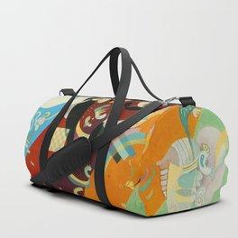 Vassily Kandinksy Composition IX. Duffle Bag