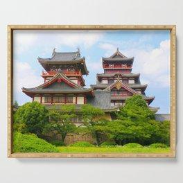 Castle Olden (Fushimi Momoyama) Serving Tray