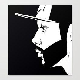 The Thinking Man Canvas Print