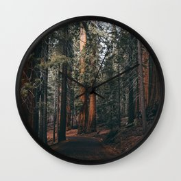 Walking Sequoia Wall Clock