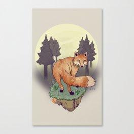Snoqualm Fox Canvas Print