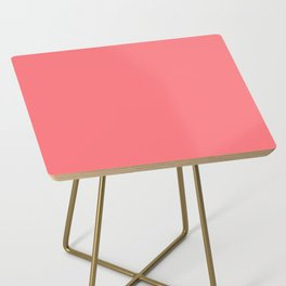 Summer Tropical Coral Side Table
