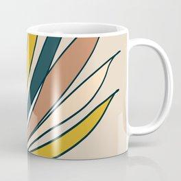 Minimal Floral #5 - Modern Art Print Coffee Mug