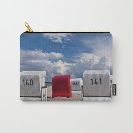 the red beach chair Carry-All Pouch