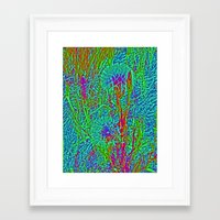 plants Framed Art Prints featuring Plants by Anne Millbrooke