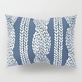 Cable Navy Pillow Sham