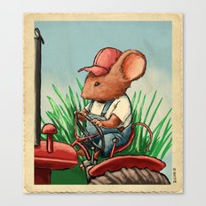 Country Mouse Canvas Print