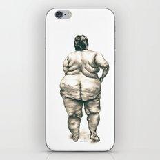 Woman in Shower iPhone & iPod Skin