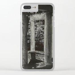 Solar Columns Clear iPhone Case